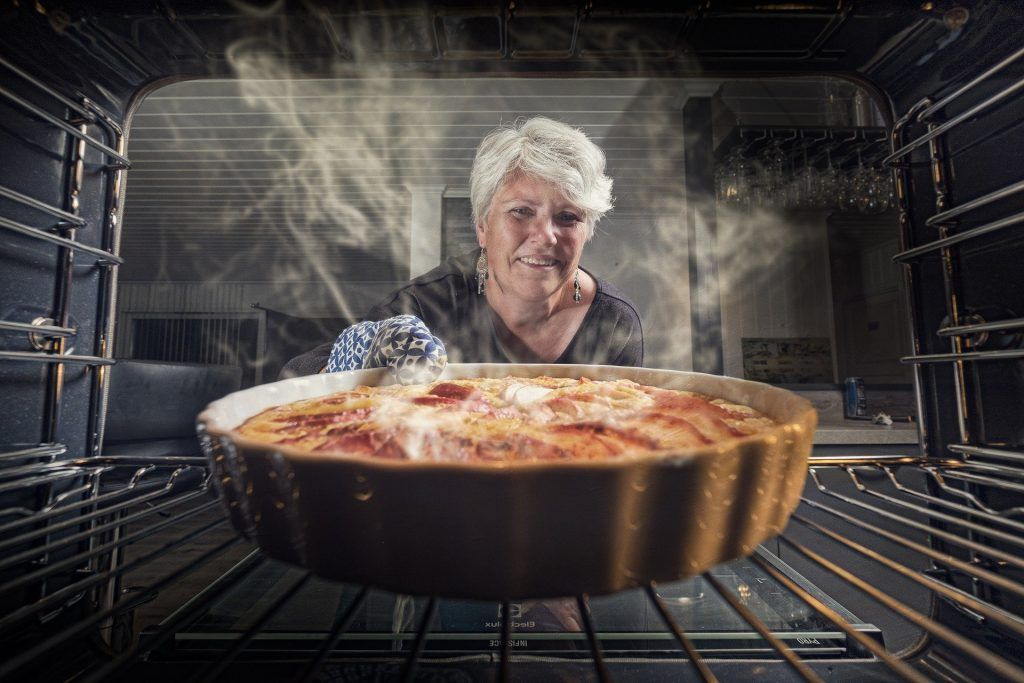 cocina con el horno estático de Tumaqhos