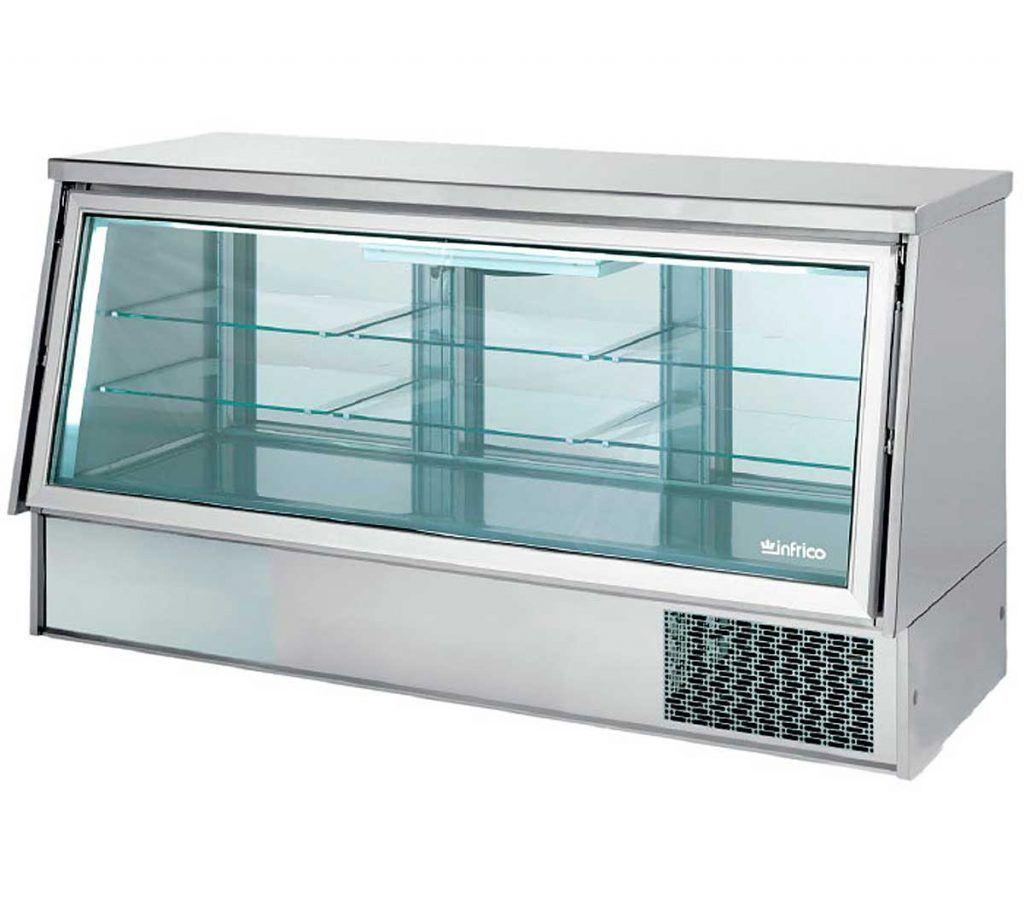 ¿Por qué conservar y exponer la comida en vitrinas de tapas
